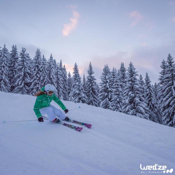 Casque de ski et de snowboard adulte H 300 blanc. - 1045267