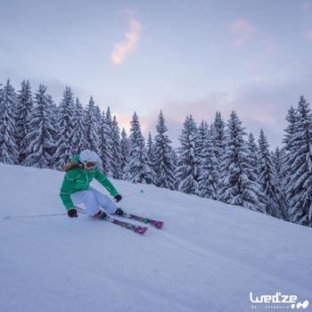 Pantalon ski femme Slide 700 blanc