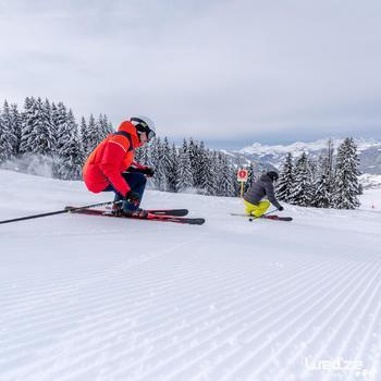 Heren skibroek voor pisteskiën SKI-P PA 580 marineblauw