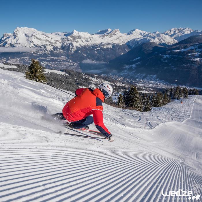 Ski Piste Boost 300 Archtec Herren rot/schwarz