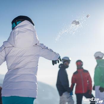 Veste ski femme Slide 500 WARM noire