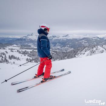 Ski-jas pisteskiën heren SKI-P JKT 580 marine
