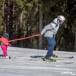 Harnas om te leren skiën, voor kinderen, blauw - 1045304