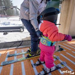 Harnas om te leren skiën, voor kinderen, blauw - 1045305