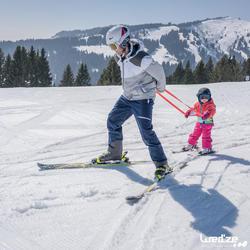 Harnas om te leren skiën, voor kinderen, blauw - 1045307