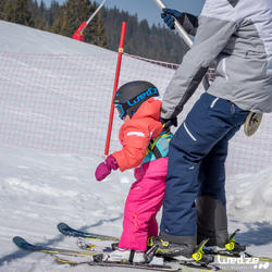 Harnas om te leren skiën, voor kinderen, blauw - 1045309
