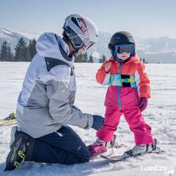 Harnas om te leren skiën, voor kinderen, blauw - 1045310