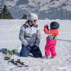 Harnas om te leren skiën, voor kinderen, blauw - 1045311