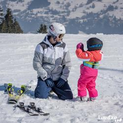 Ski-jas voor kinderen SKI-P JKT 100 rood