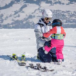 Harnas om te leren skiën, voor kinderen, blauw - 1045312