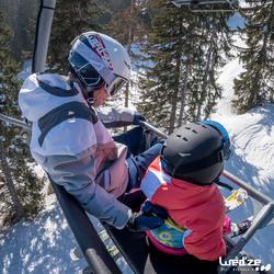 Harnas om te leren skiën, voor kinderen, blauw - 1045313