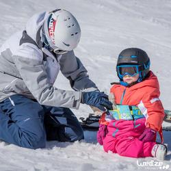 Harnas om te leren skiën, voor kinderen, blauw - 1045314