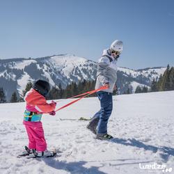 Harnas om te leren skiën, voor kinderen, blauw - 1045317