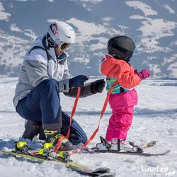 Harnas om te leren skiën, voor kinderen, blauw - 1045321