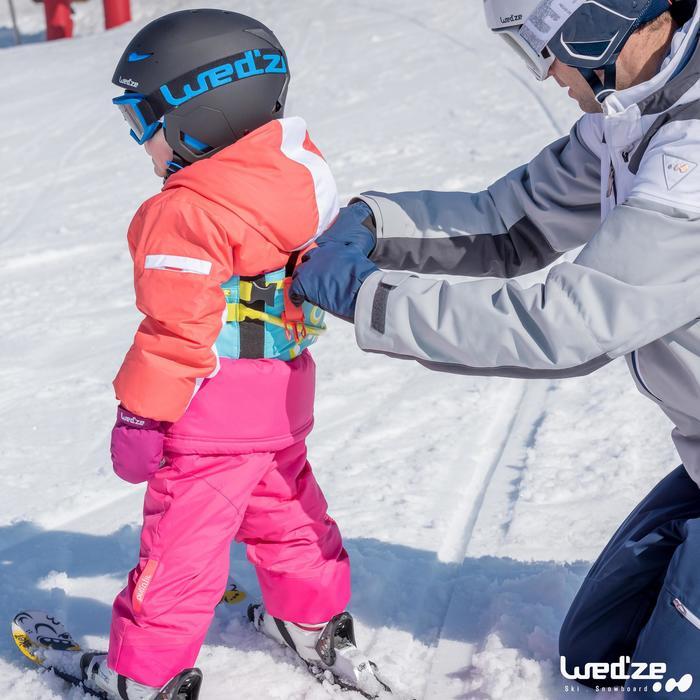 Skihandschuhe Erwachsene Warm Fit schwarz