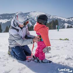 Harnas om te leren skiën, voor kinderen, blauw - 1045324