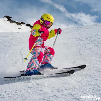 MASQUE DE SKI ET DE SNOWBOARD HOMME BONES 500 BEAU TEMPS GRIS-18 - 1045325