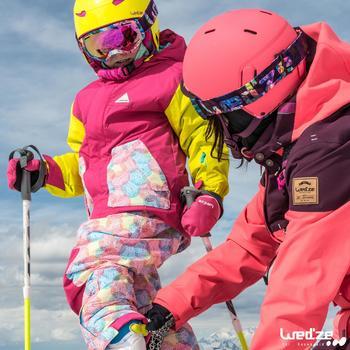 MASQUE DE SKI ET DE SNOWBOARD HOMME BONES 500 BEAU TEMPS GRIS-18 - 1045326