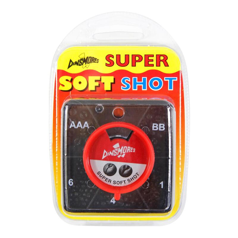 5 compartment square shot non toxic weights