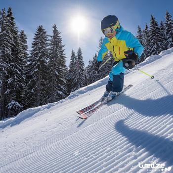 MASQUE DE SKI ET DE SNOWBOARD HOMME BONES 500 BEAU TEMPS GRIS-18 - 1045567