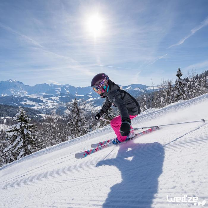 MASQUE DE SKI ET DE SNOWBOARD HOMME BONES 500 BEAU TEMPS GRIS-18 - 1045569