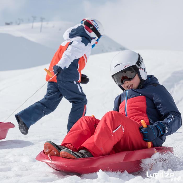Casque de ski et de snowboard enfant H 400 JR blanc.