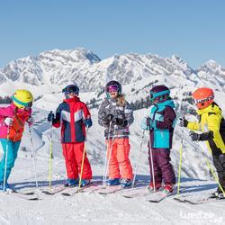 Ski- en snowboardbril voor volwassenen en kinderen G 140 zonnig weer wit