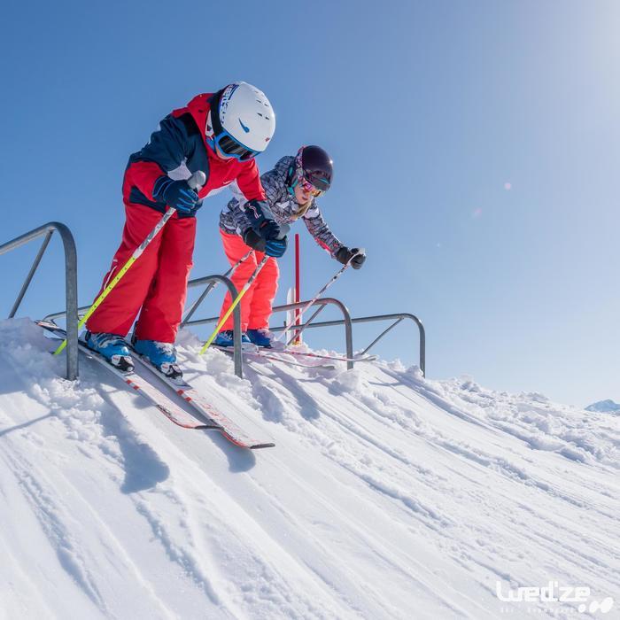 MASQUE DE SKI ET DE SNOWBOARD HOMME BONES 500 BEAU TEMPS GRIS-18 - 1045580