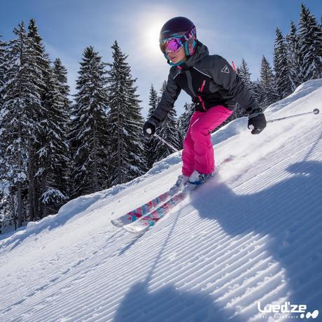 masque de ski et de snowboard homme bones 500 beau temps rose 18 wedze. Black Bedroom Furniture Sets. Home Design Ideas