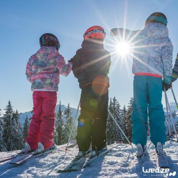 MASQUE DE SKI ET DE SNOWBOARD HOMME BONES 500 BEAU TEMPS GRIS-18 - 1045585