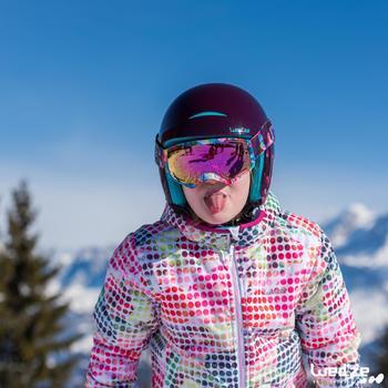 Casque de ski et de snowboard enfant H 400 JR blanc. - 1045587
