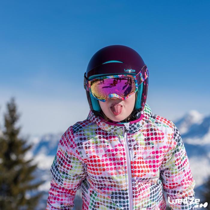 MASQUE DE SKI ET DE SNOWBOARD HOMME BONES 500 BEAU TEMPS GRIS-18 - 1045587