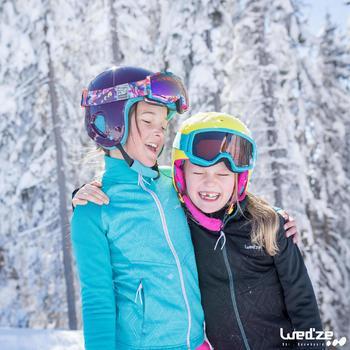 MASQUE DE SKI ET DE SNOWBOARD HOMME BONES 500 BEAU TEMPS GRIS-18 - 1045593