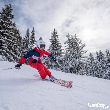 Ski-/Snowboardbrille G 140 Kinder und Erwachsene schönes Wetter weiß