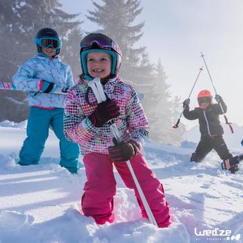 MASQUE DE SKI ET DE SNOWBOARD HOMME BONES 500 BEAU TEMPS GRIS-18 - 1045595