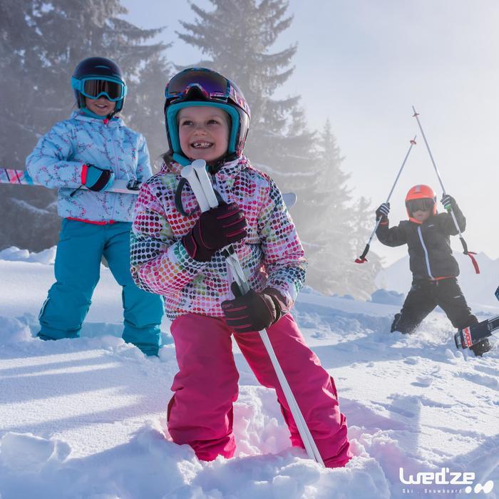 MASQUE DE SKI ET DE SNOWBOARD HOMME SNOW 300 MAUVAIS TEMPS NOIR-P