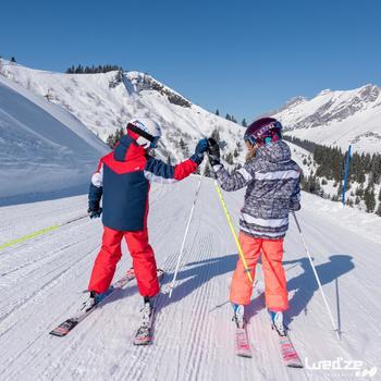 MASQUE DE SKI ET DE SNOWBOARD HOMME BONES 500 BEAU TEMPS GRIS-18 - 1045597