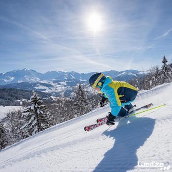 MASQUE DE SKI ET DE SNOWBOARD HOMME BONES 500 BEAU TEMPS GRIS-18 - 1045598