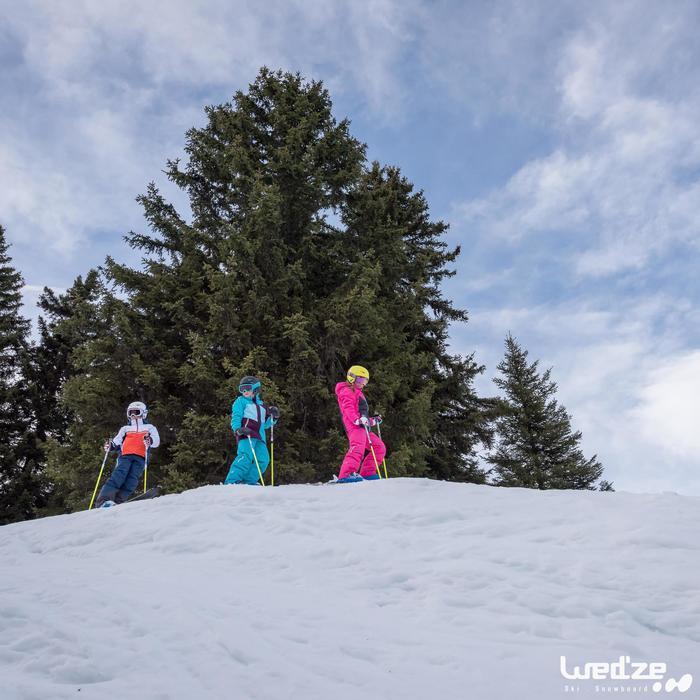 MASQUE DE SKI ET DE SNOWBOARD HOMME BONES 500 BEAU TEMPS GRIS-18 - 1045600