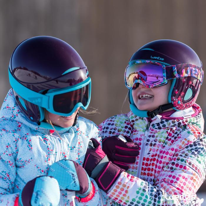 MASQUE DE SKI ET DE SNOWBOARD HOMME BONES 500 BEAU TEMPS GRIS-18 - 1045601