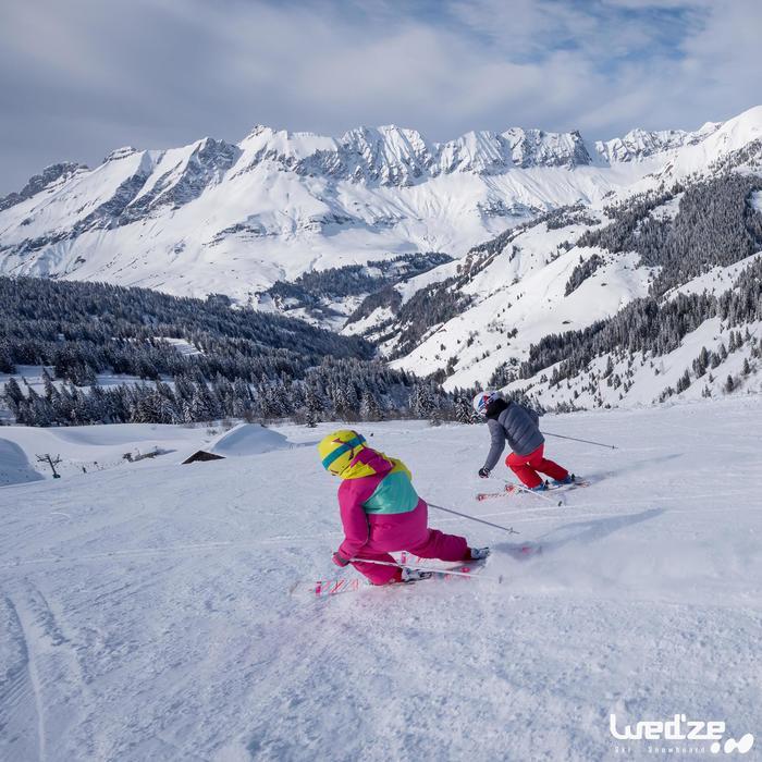 Ski- en snowboardbril volwassenen en kinderen G 140 zonnig weer wit