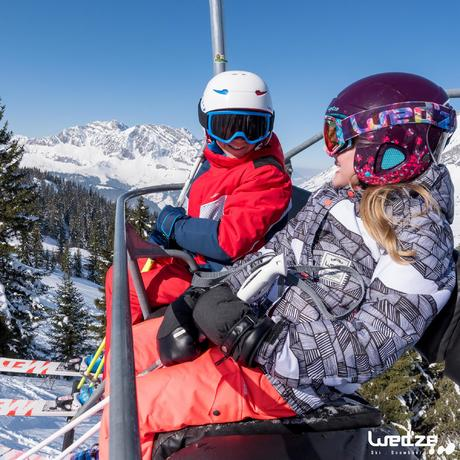 casque de ski et de snowboard enfant h 400 jr orange wedze. Black Bedroom Furniture Sets. Home Design Ideas