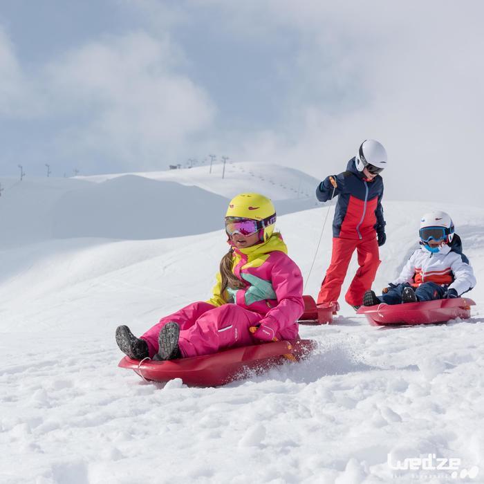 MASQUE DE SKI ET DE SNOWBOARD HOMME BONES 500 BEAU TEMPS GRIS-18 - 1045612