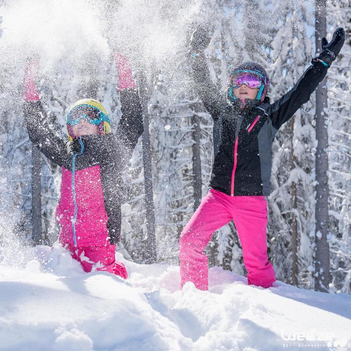 MASQUE DE SKI ET DE SNOWBOARD HOMME BONES 500 BEAU TEMPS GRIS-18 - 1045615