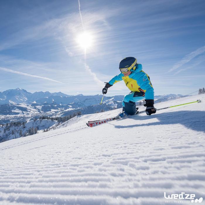 MASQUE DE SKI ET DE SNOWBOARD HOMME BONES 500 BEAU TEMPS GRIS-18 - 1045616