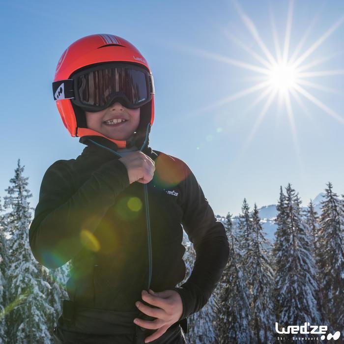MASQUE DE SKI ET DE SNOWBOARD ENFANT ET ADULTE G 120 MAUVAIS TEMPS NOIR
