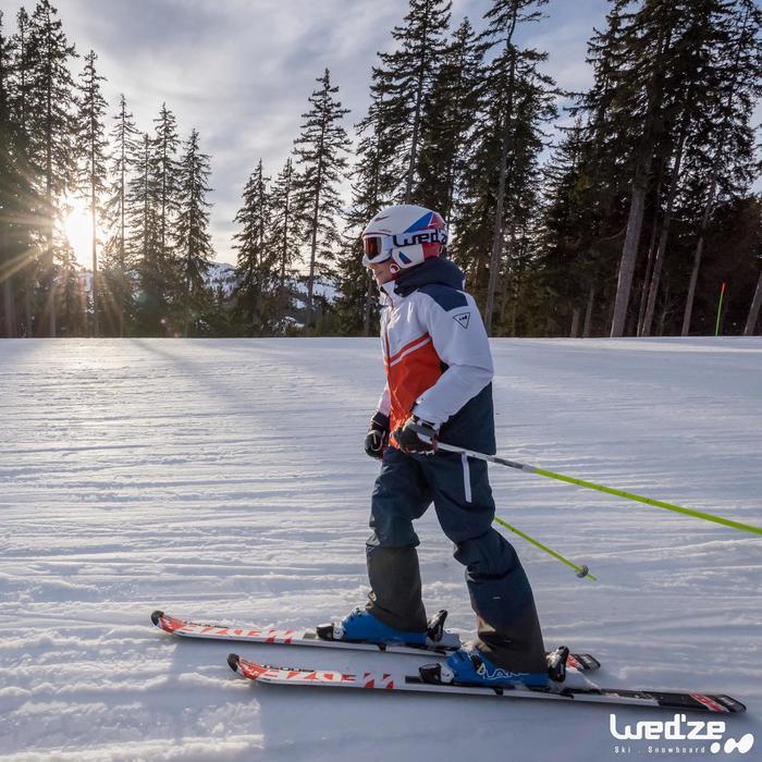 Skistöcke Ski-P Team Vario 500 Kid Kinder gelb