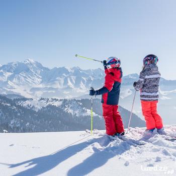 MASQUE DE SKI ET DE SNOWBOARD HOMME BONES 500 BEAU TEMPS GRIS-18 - 1045621