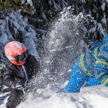 Skibril en snowboardbril voor volwassenen en kinderen G 120 slecht weer zwart