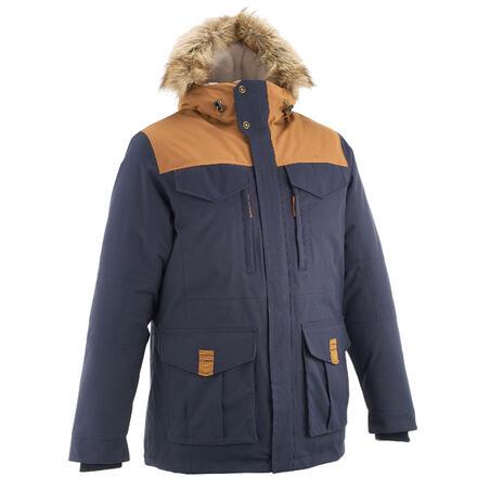 SH900 Warm Men's Snow Hiking Jacket - Blue
